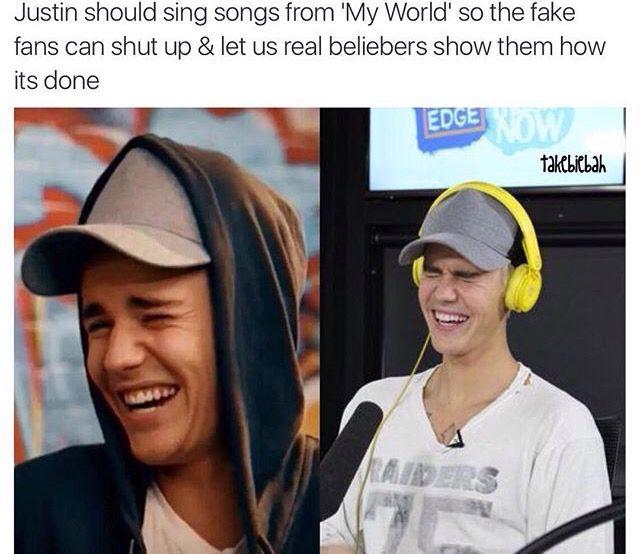 I would laugh so hard. I would be like yea I know these lyrics bish
