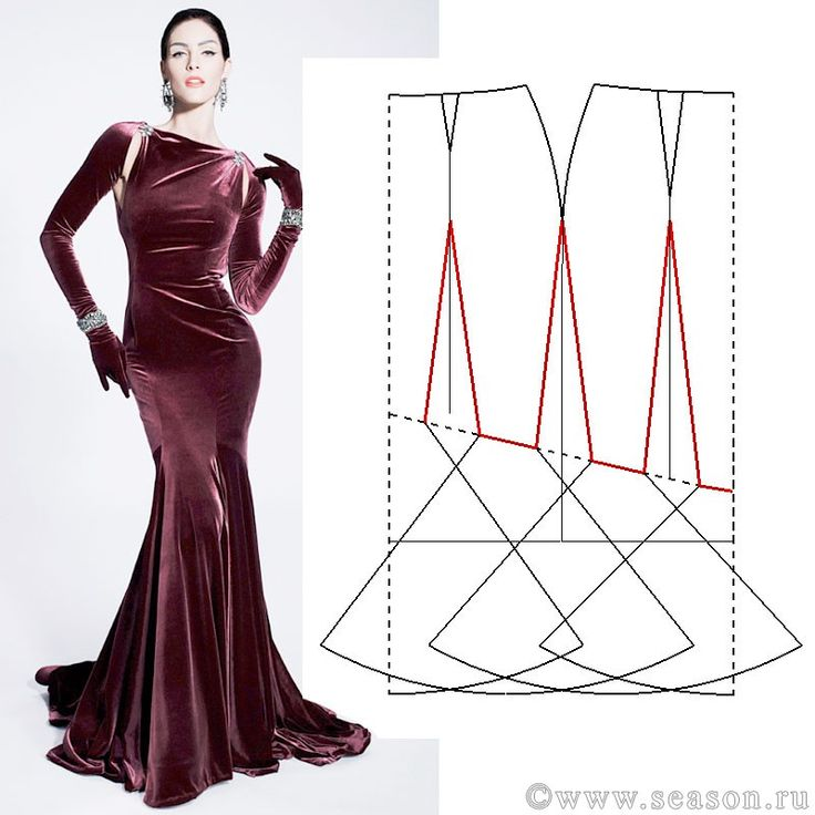 817 best PATRONES images on Pinterest | Sewing patterns, Dress ...
