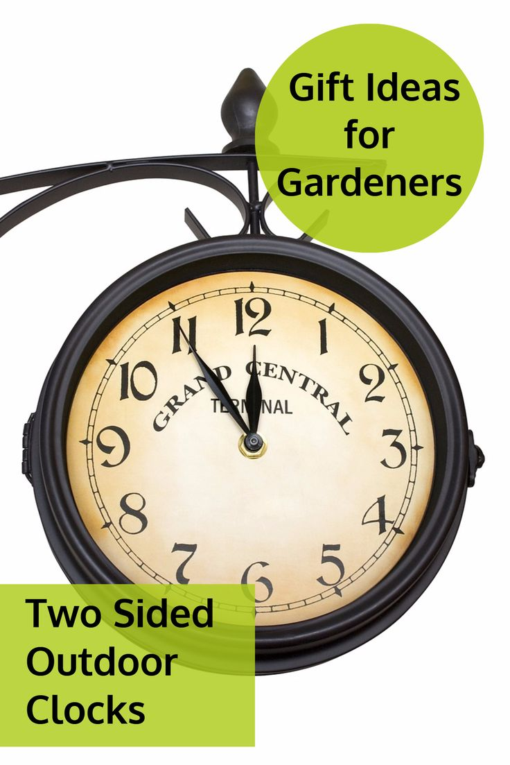 26 best best two sided outdoor clocks images on pinterest clocks best two sided outdoor clocks for gardens and outdoor spaces amipublicfo Images