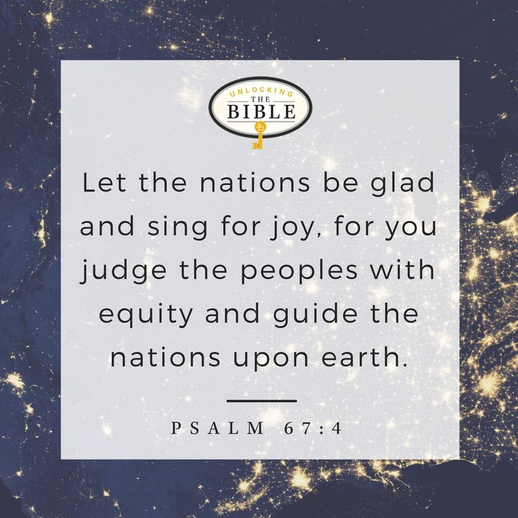 let the nations be glad pdf