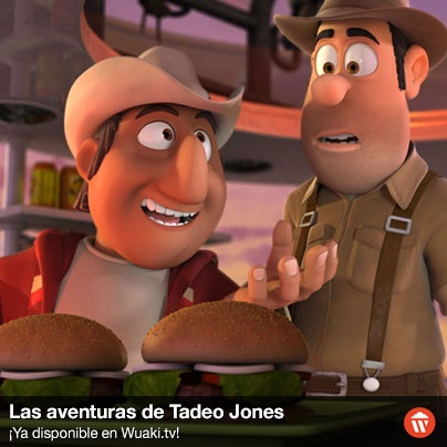 El cómico José Mota presta su voz al personaje en su versión castellana. Es un simpático guía peruano que acompañará a Tadeo y a Sara en sus aventuras. http://wktv.co/Whi05e