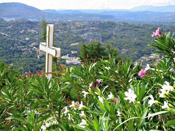 View from Tsambika Monastery