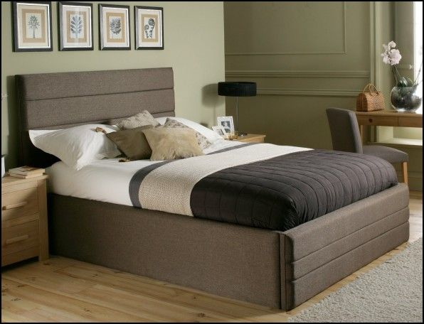 Cheap King Size Bed Frame and Mattress