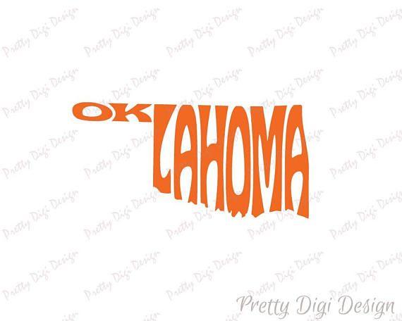 Digital Oklahoma Word Art, Oklahoma jpg, png, pdf, eps, svg, Oklahoma logo design, Oklahoma word in map shape, Oklahoma wall decor