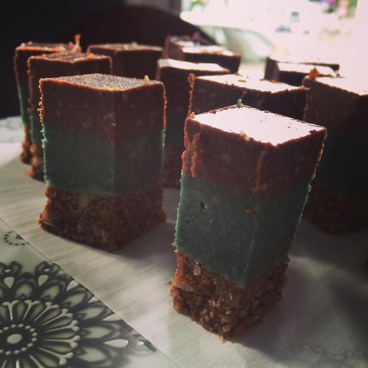 Choco Mint Squares #yogabrunch