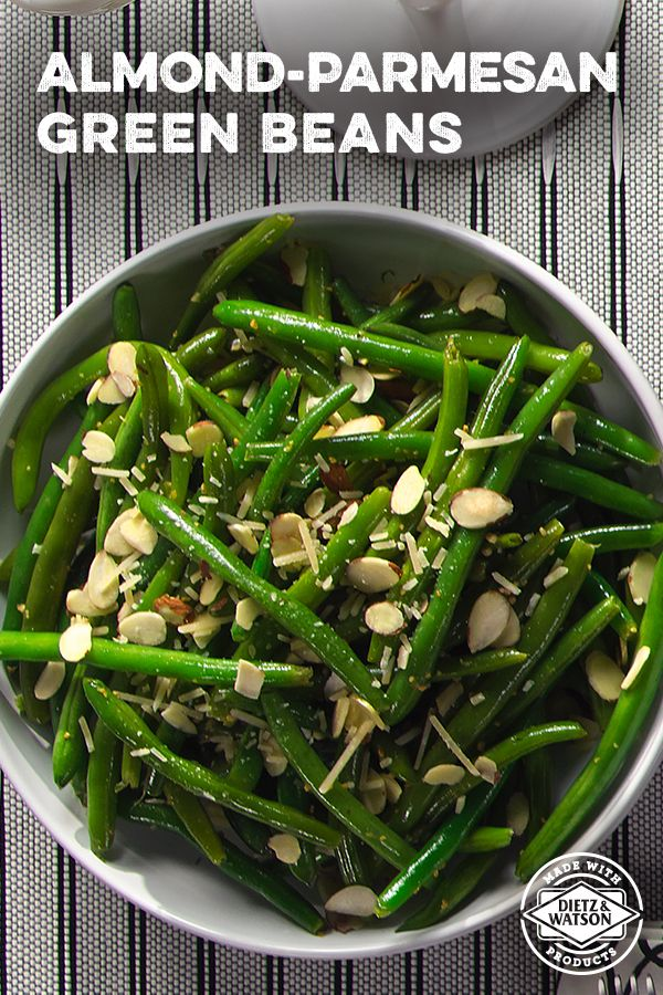 Try this Almond-Parmesan Green Bean recipe and keep your holiday dinner fresh with some veggies.
