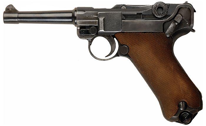 La Parabellum o «Parabellum-Pistole», popularmente conocida como «Luger»,1 es una pistola semiautomática accionada por retroceso. El diseño fue patentado por Georg Luger en 1898 y fue producido por la fábrica alemana de armas Deutsche Waffen und Munitionsfabriken (DWM) a partir del año 1900. El diseño del sistema de Luger se basa en una anterior pistola de Hugo Borchardt, conocida como C-93. Luger rediseñó el sistema de Borchardt logrando un conjunto de cerrojo y corredera mucho más pequeño.
