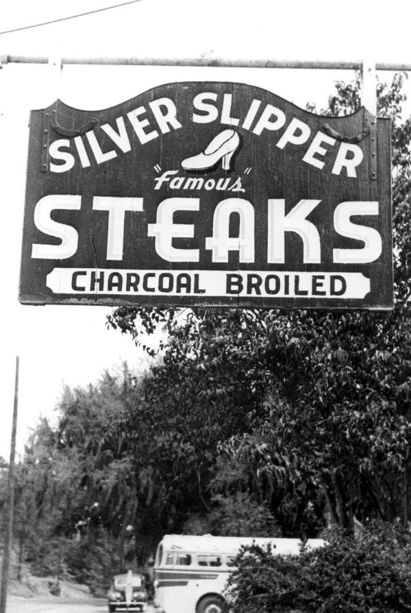 The Silver Slipper restaurant, a Tallahasee landmark. After 71 years in business, the Silver Slipper closed its doors in 2009. An institution in state politics, the steak house was known for the privacy it afforded politicians and lobbyists who would eat, drink, and scheme in curtained rooms. OH YEAH :{}