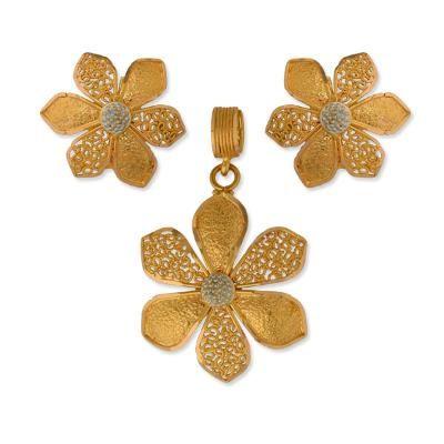 jewellery | gold | pendantearrings