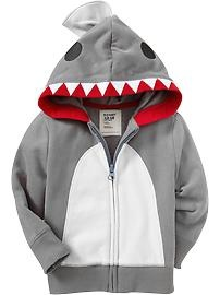 Cute sweat shirt it's a shark