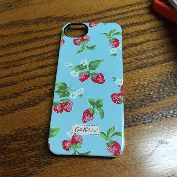 Cath Kidston stawberry iphone 5 case Never been used excellent condition fits an iPhone 5 Cath Kidston Accessories Phone Cases