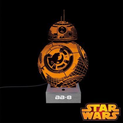 Lampe BB-8 Star Wars Acrylique sur Logeekdesign