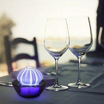 Gorgeous Purple Sea Urchin LED Light.    http://www.amazon.com/SeaThingz-Sea-Urchin-Decorative-Luminaries/dp/B00PKVVI6Y/ref=sr_1_57?ie=UTF8&qid=1433902511&sr=8-57&keywords=home+decor