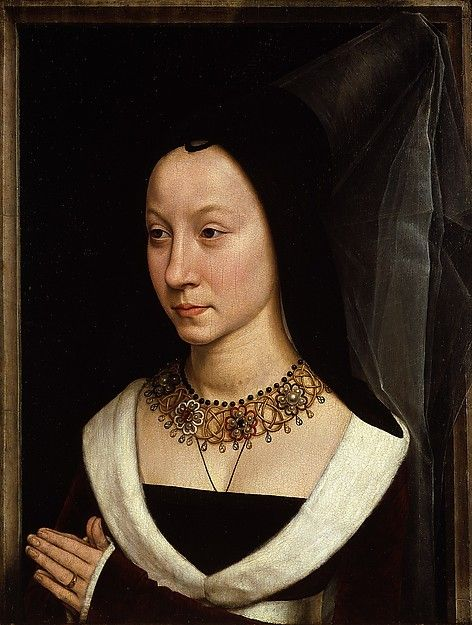 Maria Portinari (Maria Maddalena Baroncelli, born 1456) Hans Memling