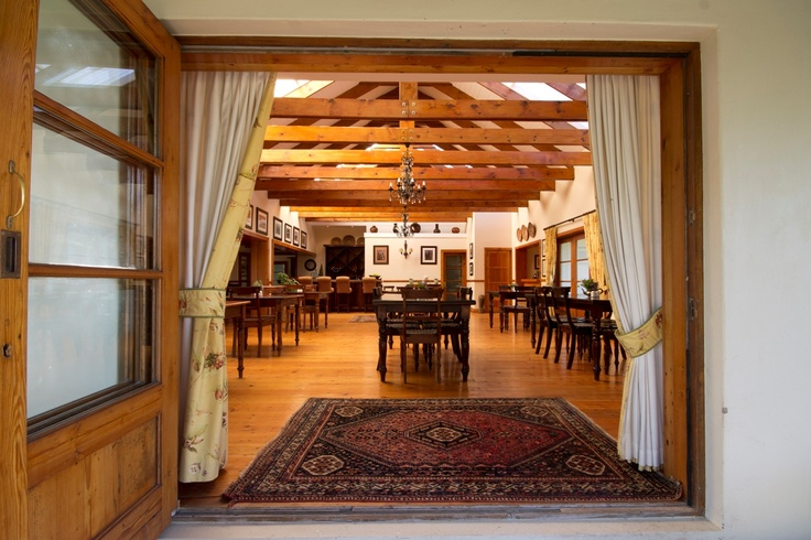 Looking in to Dune Ridge Country House, St Francis Bay Dining Room