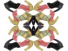 Туфли и ботильоны из коллекции Miu Miu Fall/Winter 2011 - Glitter pumps