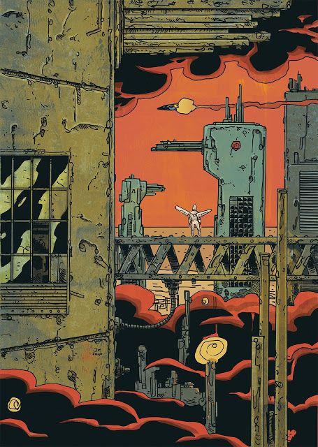 Jakub Kijuc - komiks, ilustracja: Tak przyszli do Jerycha