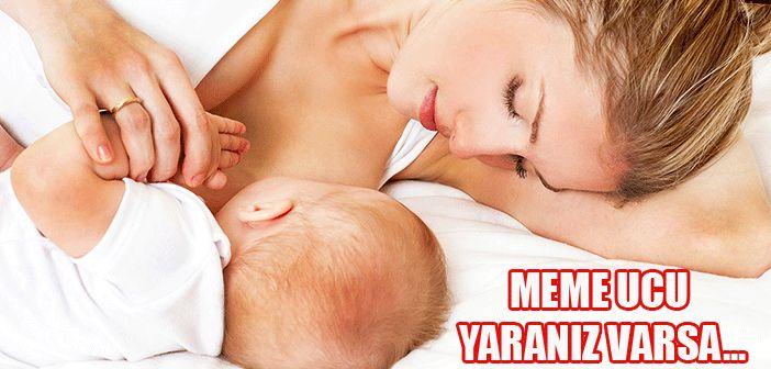 Hamilelik Sonrası Meme Ucu Yaralanması!