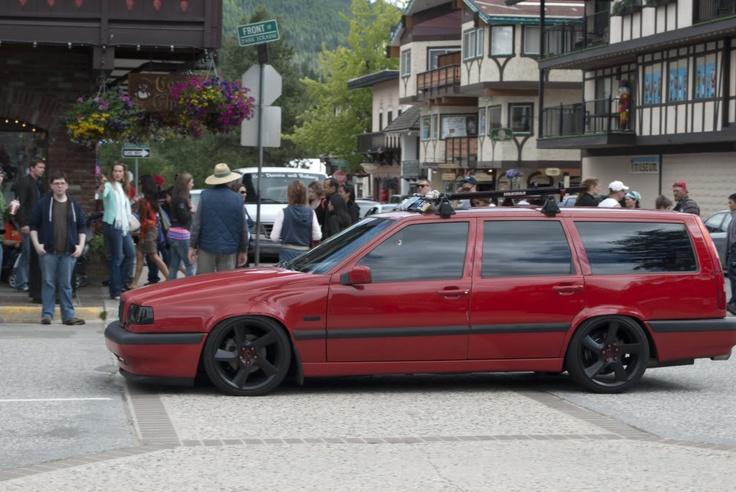 #volvo #850 #slammed #stance #wagon | 850 | Pinterest | West coast, Models and Popular