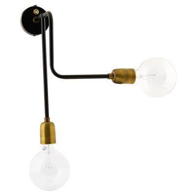 Molecular vägglampa, 2 ljus – House Doctor – Köp online på Rum21.se