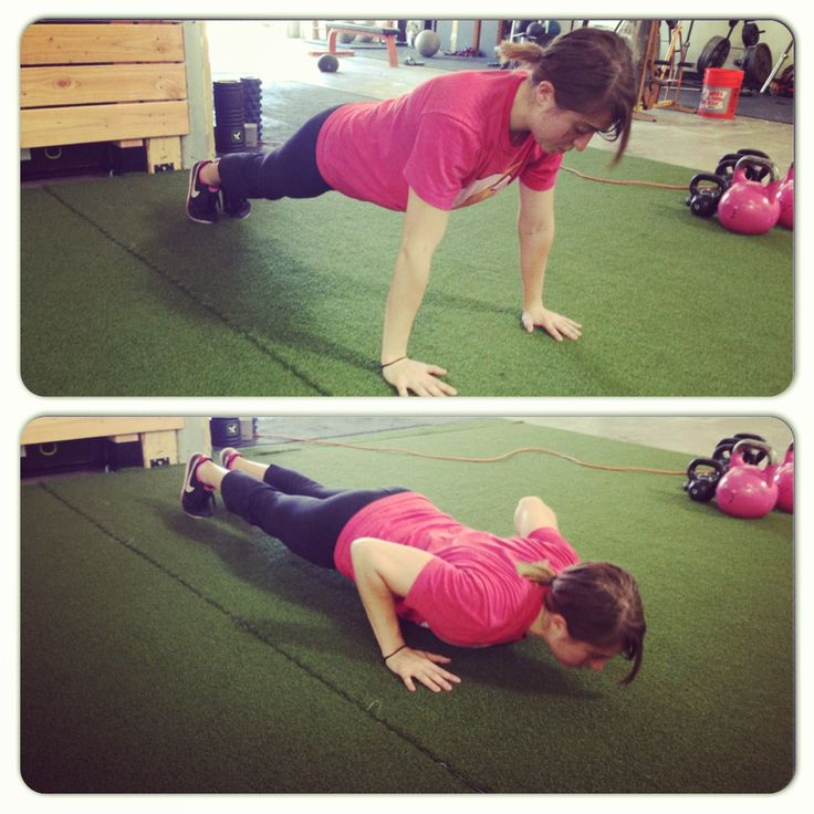 a guide to perfect push up form and some push up workouts to help you do more!