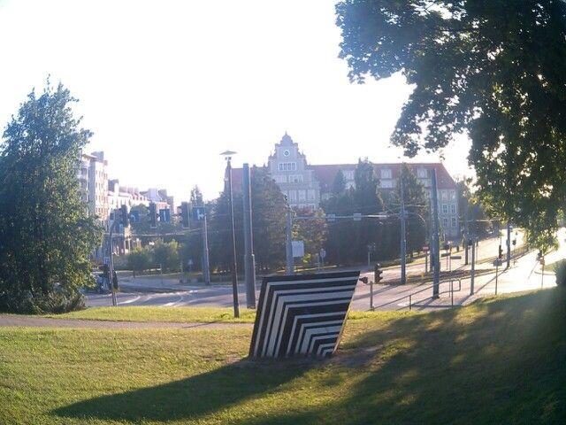 Park R.Traugutta -bydynek sądu