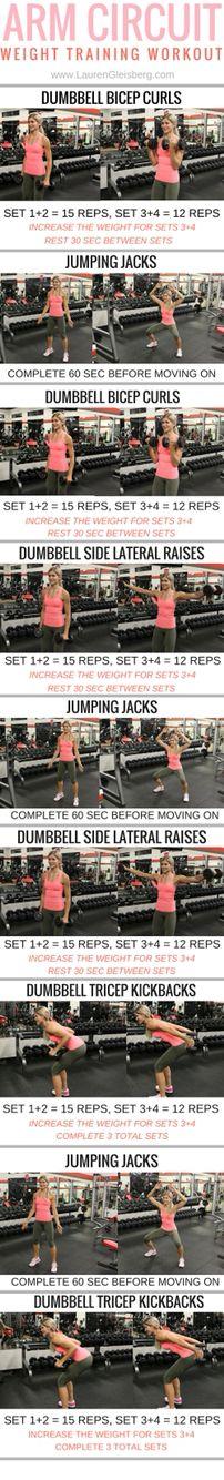 Lauren Gleisberg Arm Workout