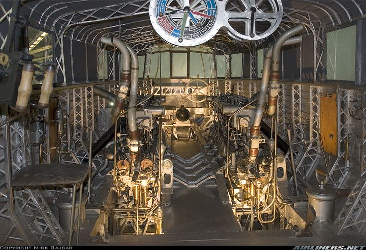 view of a german zeppelin engine compartment blimps airships pinterest the o 39 jays. Black Bedroom Furniture Sets. Home Design Ideas