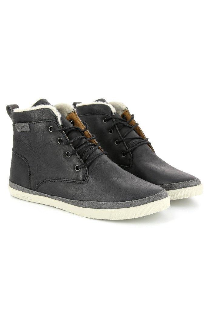 Bangor leather high top sneaker for women