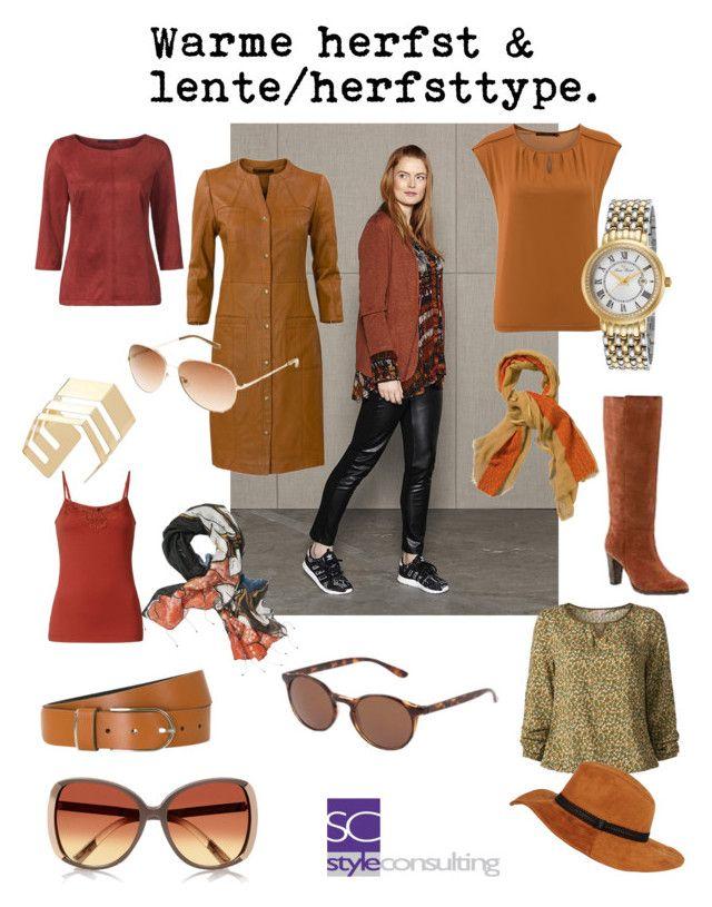 """""""Outfits voor de warme herfst en het lente/herfsttype."""" By Margriet Roorda-Faber."""