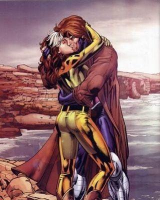 Rogue & Gambit #xmen #comics #marvelcomicscosplay #superhero #marveluniverse #comic #comics #marvelcosplay #gambit #rogue