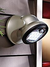 Battery-Powered LED Motion Outdoor Security Light | Solutions