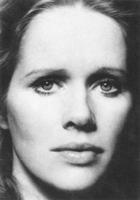 Liv Ullman (Norwegian muse of Swedish director, Ingmar Bergman. She starred in most of his films).