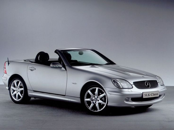 Mercedes SLK classic.. It's so cute!
