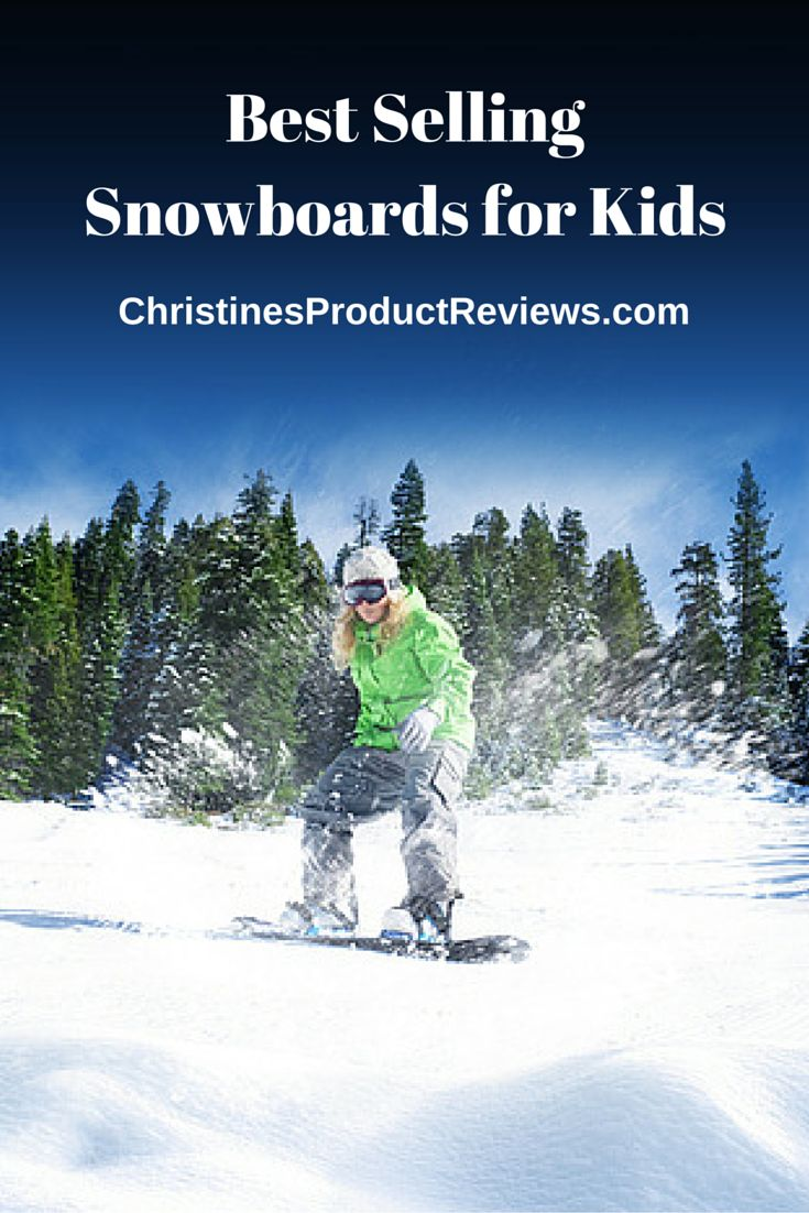 Snowboarding is a fun and exciting way to spend time outdoors during the winter and kids will have fun for hours when they have a snowboard of their own. Featured below are the best selling snowboards for kids available this season as well as video reviews of the best snowboards for kids.