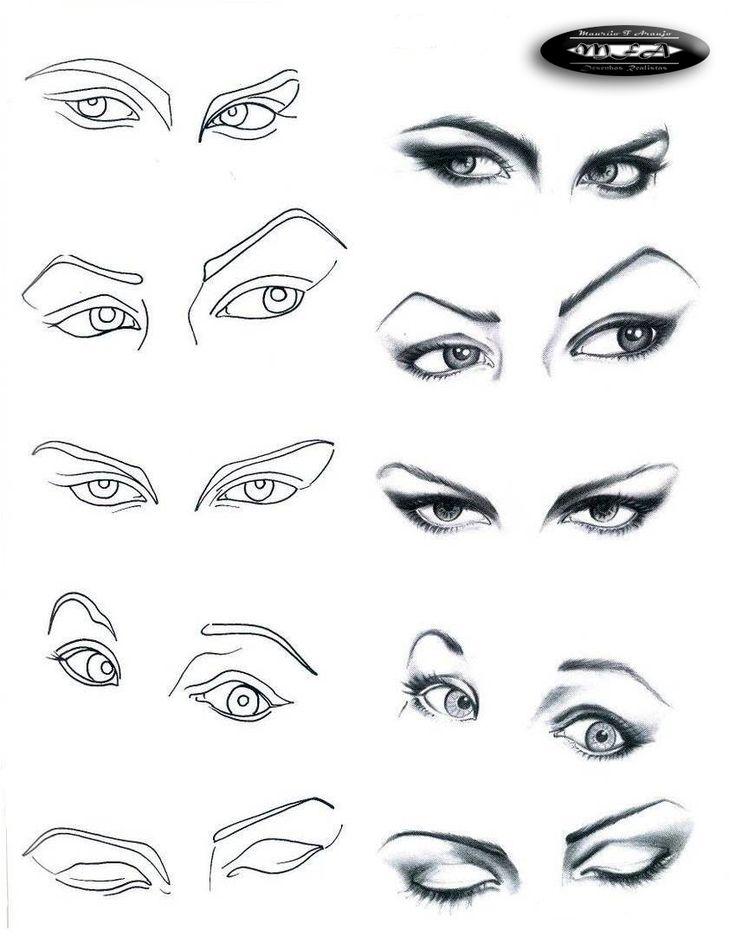 Desenhos Realistas : Aprendendo a desenhar Rostos e Faces                                                                                                                                                      Mais