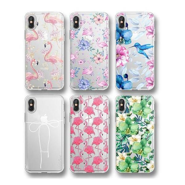 Flower, Flamingo, Bow Case For iPhone