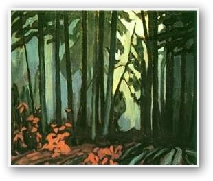 Lawren Harris Wood, Interior Algoma