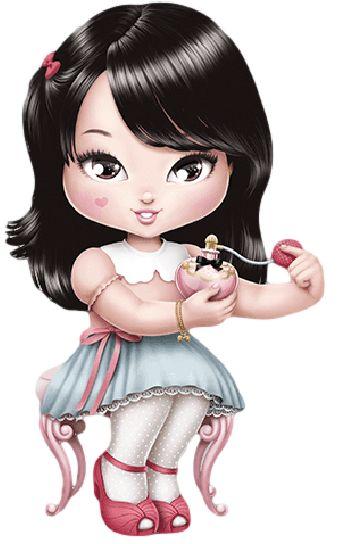 Pintura em tecido   bonecas    Jolie