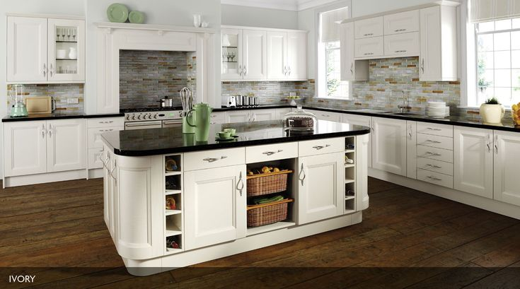 Contemporary kitchen style based on the classic shaker style, available in a range of colours.  Visit http://www.erkitchens.co.uk/kitchens/richmond-painted for more colours.
