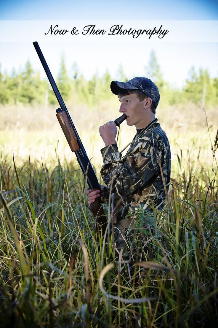 Now & Then Photography | Balsam Lake, WI | Posts | Senior Pictures | Ideas | Poses | Fall | Hunting | Ducks | Gun | Boy | Guys | Camo | Outdoors |