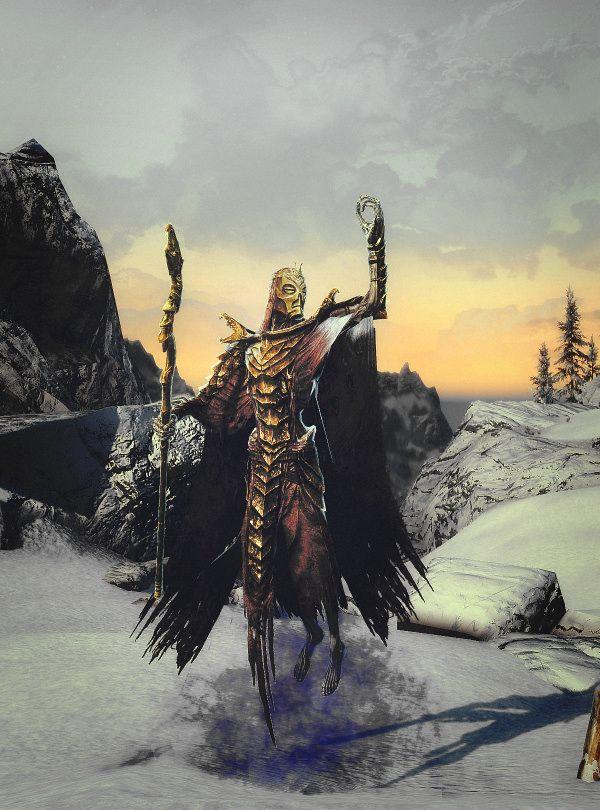 Skyrim - Sacerdote Dragón