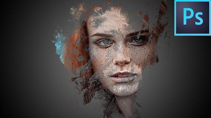 Photoshop Image Manipulation : How to create a Halftone Splash Image in ...