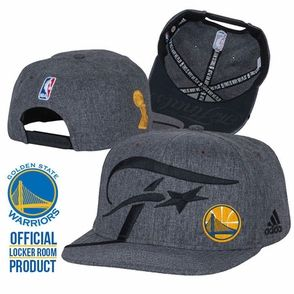newest eda31 66440 ... free shipping golden state warriors adidas conference champions  authentic locker room snapback hat grey 07aff 9f7cb