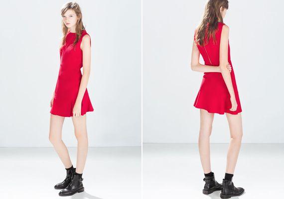 Nagyon mini piros, amit a Mikulás felesége is megirigyelne. Zara, 9995 forint.