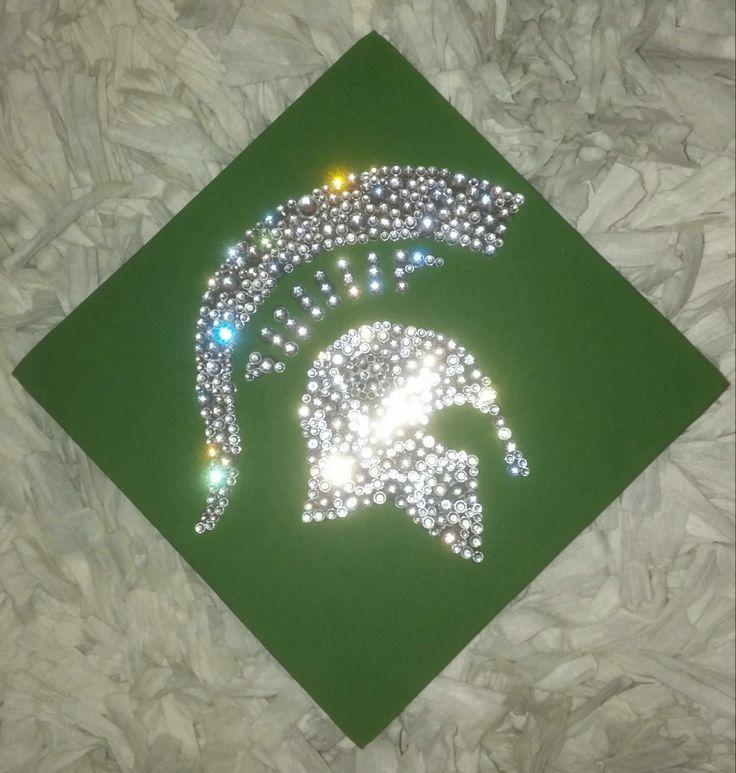 Class of 2014, Spartan Graduation Cap, MSU, Michigan State ...
