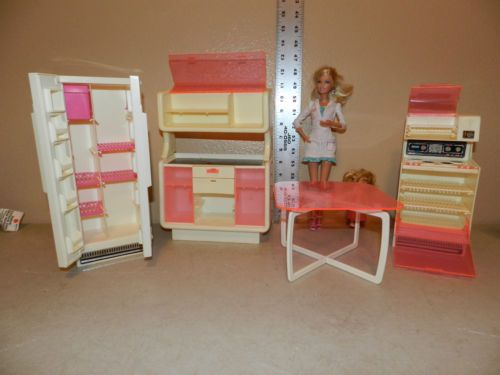 Mobili barbie ~ Details about barbie monster high diorama scale ooak furniture