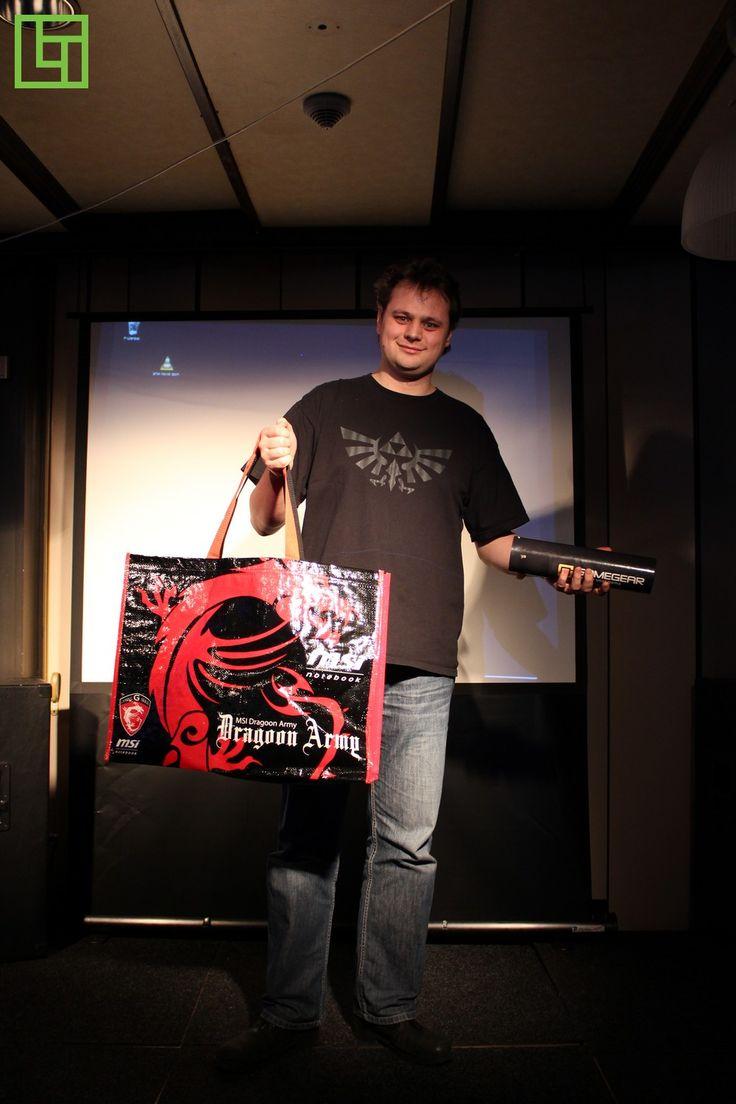 The Lantastic - prijswinnaar met goodiebag van Azerty