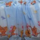 Perdea voal Winnie the Pooh 9102 albastru