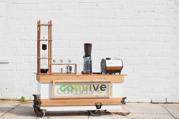 convive mobile espresso bar - convive coffee roastery